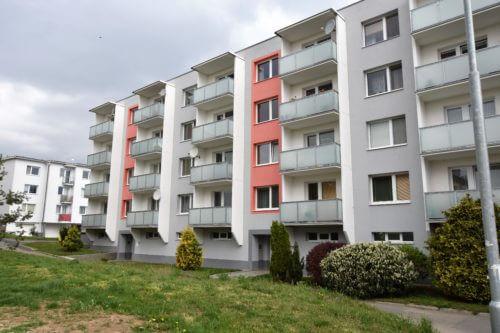Prodej bytu 2+kk, 46m2 s balkonem v Rajhradě