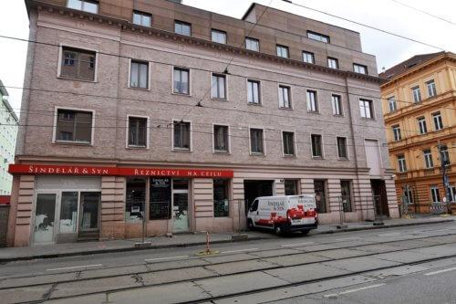 Pronájem bytu 1+1, 26 m2 v Brně na ulici Cejl