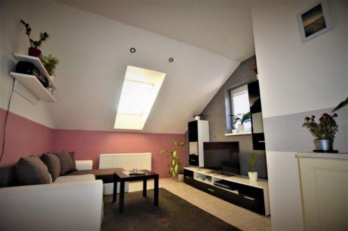 Prodej bytu 2+kk, 40 m2 s terasou v Popovicích u Rajhradu